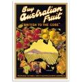 Vintage Australian Advertising Poster - Buy Australian Fruit