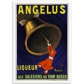 Angelus Liqueur - Vintage French Advertising Poster