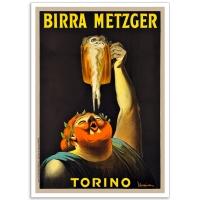 Birra Metzger Torino - Vintage French Advertising Poster