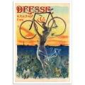 Vintage Advertising Poster - Deesse Bicycle