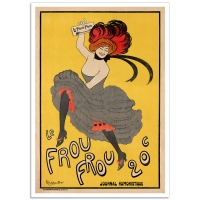 Vintage Advertising Poster - Le Frou Frou 20