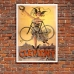 Vintage Advertising Poster - Cycles Clement Paris