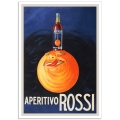 Vintage Advertising Poster - Aperitivo Rossi