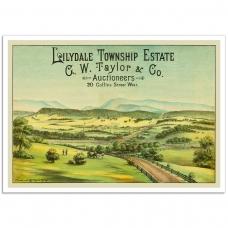 Lilydale Township Estate - Vintage Australian Advertising Poster