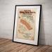 Railway Station Reserve Malvern - Vintage Australian Advertising Poster