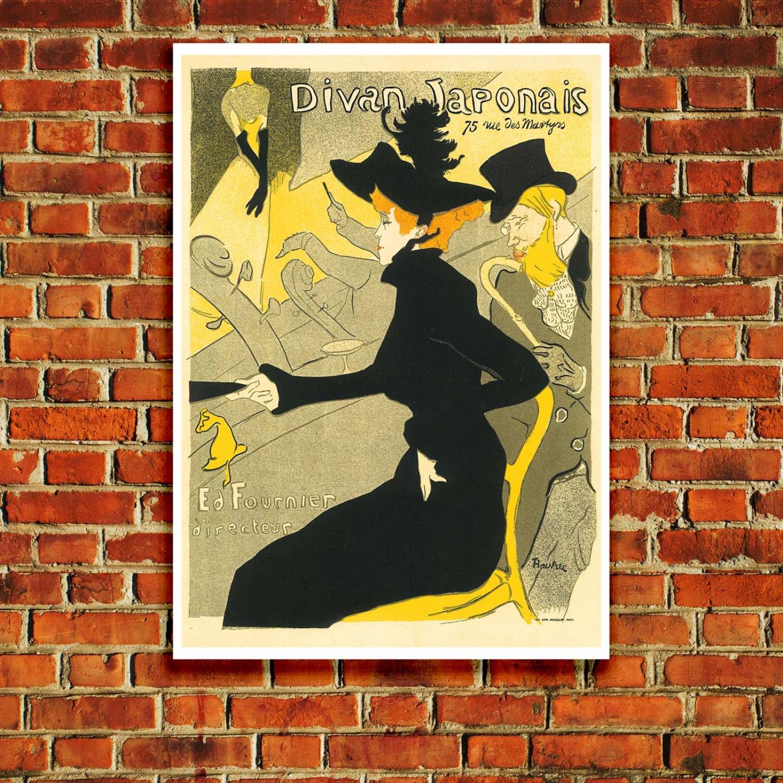 Toulouse Lautrec S Divan Japonais 1893 Art Nouveau