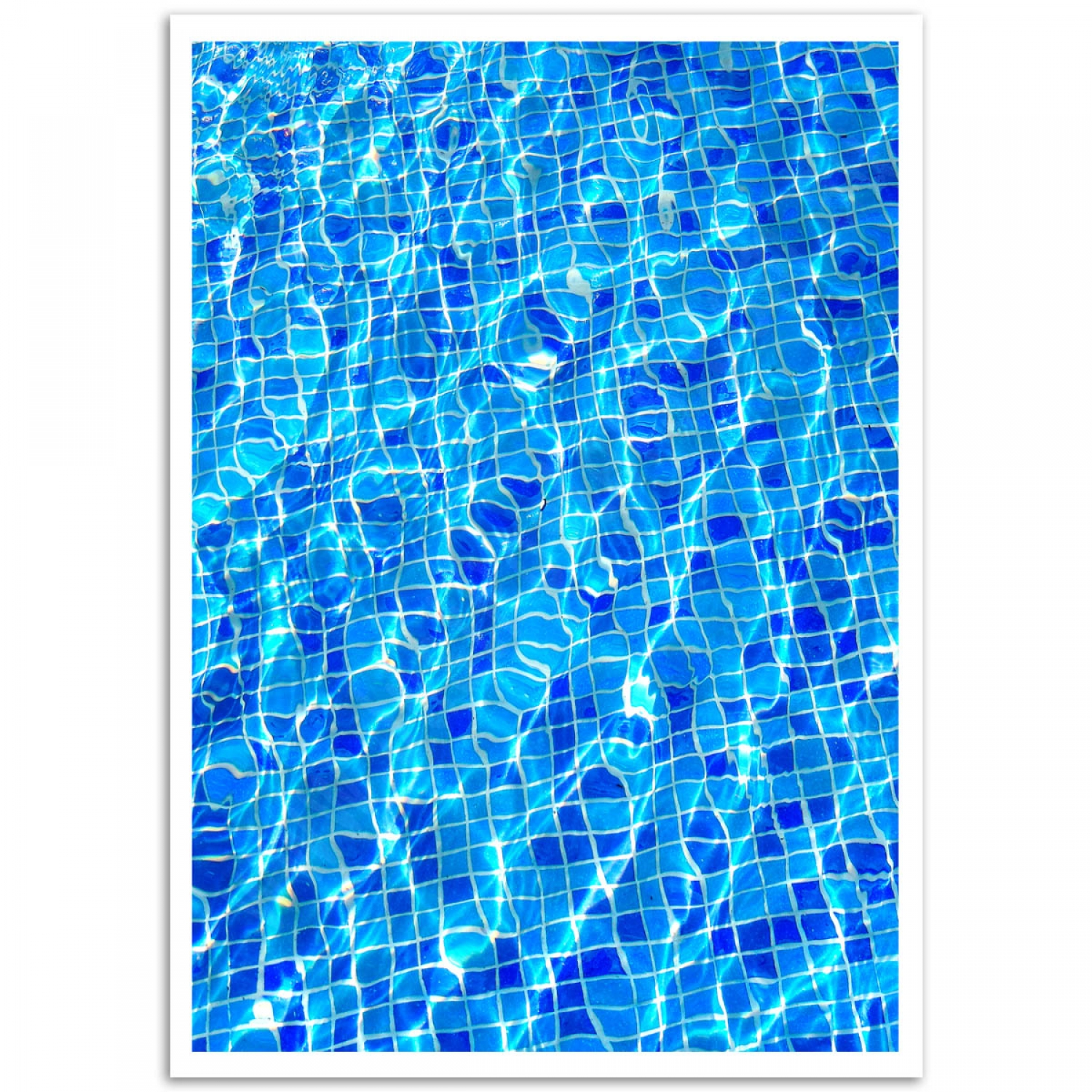 Purchase \'Pool Tile Poster\' Online | Just Posters