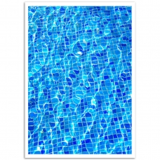 Abstract Art - Pool Tile Poster