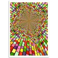 Abstract Art - Colour Shaft Poster