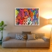 Abstract Art - Coloured Cogs Poster
