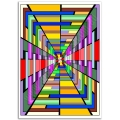 Abstract Art - Psychedelic Passage Poster