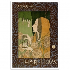 Book Cover Poster - Llibre d'Horas