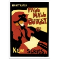 Book Cover Poster - Pall Mall Budget
