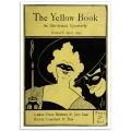 Book Cover Poster -The Yellow Book 1894