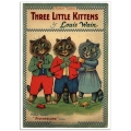 Book Cover Poster - Three Little Kittens