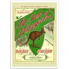 Book Cover Poster - The Tale of a Kangaroo