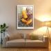 Botanical Poster - Queensland Honeysuckle