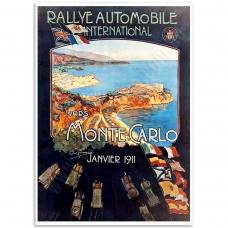 Auto Poster - Monte-Carlo Poster