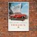 Holden FC Series - Australian Retro Auto Poster