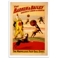 Circus Poster - Barnum & Bailey, The Marvellous Football Dogs