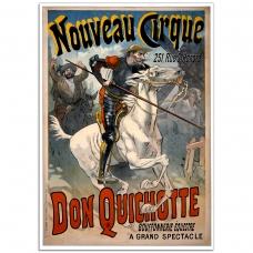 Circus Poster - Don Quichotte - Nouveau Cirque