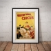 Circus Poster - Gentry Brothers Circus, Miss Louise Hilton