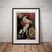 Circus Poster - Ringling Brothers, Madam Ada and Jupiter