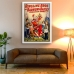 Circus Poster - Ringling Bros, Barnum and Bailey - Children's Favorite Clown