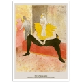 Fine Art Poster - The Seated Clowness - Lautrec