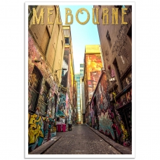 Hosier Lane Melbourne - Australian  Street Art