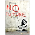 Street Art Poster - No Future Girl