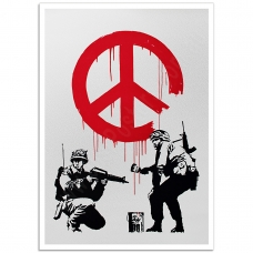 Street Art Poster - CND Soldiers