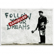 Street Art Poster [Landscape] - Follow Your Dreams