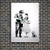 Street Art Poster - Dorothy Police Search