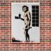 Street Art Poster - McApe Man