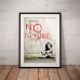 Street Art Poster - No Future Girl