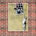 Street Art Poster - Well Hung