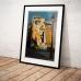Street Art Poster - Dali, Centre Pompidou