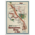 Melbourne Map Poster - Trams to Racecourses, River, Zoo