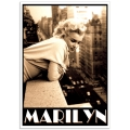 Hollywood Photographic Poster - Marilyn Monroe in NYC