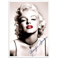 Hollywood Photographic Poster - Marilyn Monroe