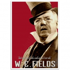 Hollywood Photographic Poster - W.C. Fields-1935