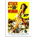 Movie Poster - Attack of the 50ft Woman