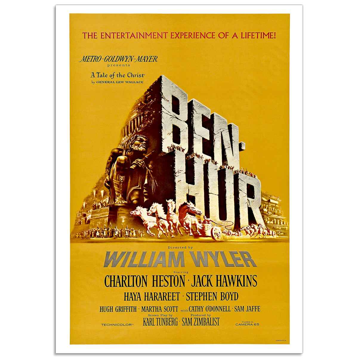 Movie Poster - Ben-Hur 1959