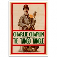Movie Poster - Tango Tangles Charlie Chaplin (1914)