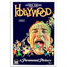 Movie Poster - Hollywood James Cruze 1923