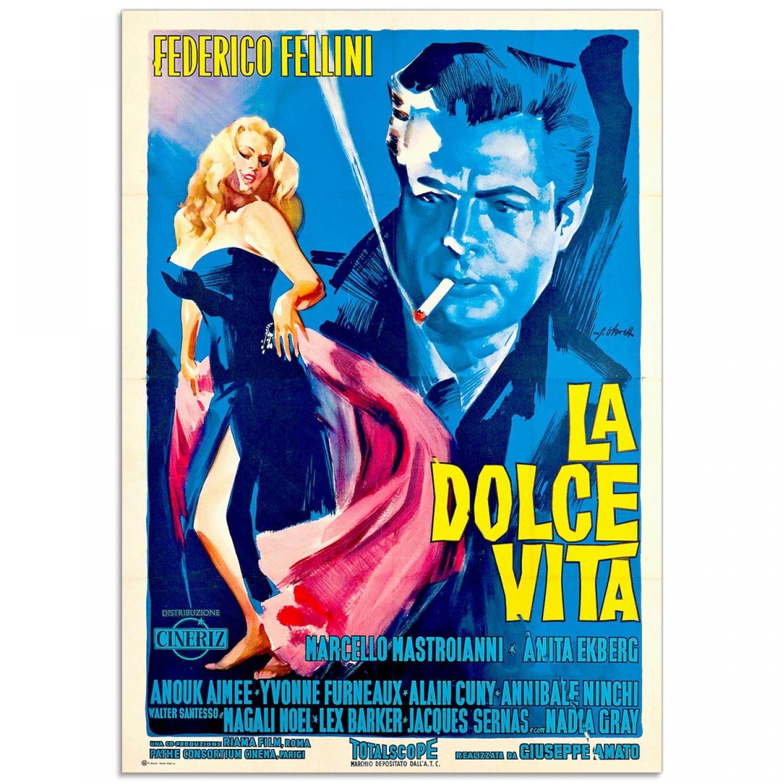 """La Dolce Vita"" | Vintage Movie Poster (1960) | Just Posters"
