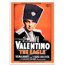 Movie Poster - The Eagle, Rudolph Valentino (1926)