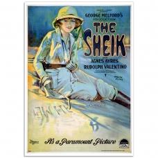 Movie Poster - The Sheik, Rudolph Valentino (1921)