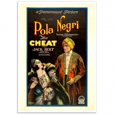 Movie Poster - The Cheat (Pola Negri) 1914